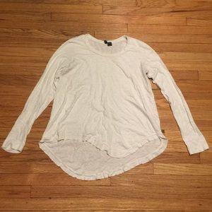 Anthropologie Left of Center white l/s shirt - Med